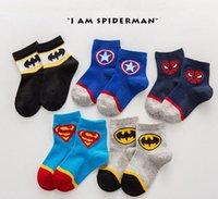 chaussettes de bébé à vendre achat en gros de-Vente en gros Vente chaude chaussettes de coton enfants fille garçon chaussettes Cartoon Printemps Été Enfants Bébé Chaussettes courtes pour enfants 2-10Years 0999