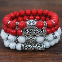 Wholesale cool hot jewelry for sale - Group buy 201910 Hot Sale Fashion Classic Natural Stone Animal Owl Yoga Bracelet For Women Men Cool Bangle Bracelet Charm Jewelry Pieces Set N27A