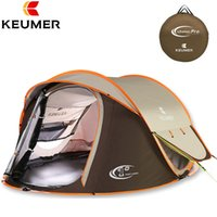 Wholesale free mm games for sale - Group buy Camping Tent Large Space Double Layer person New Family beach tents outdoor camping waterproof