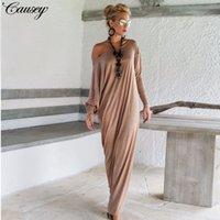 frauen s westlichen stil kleider großhandel-2019 Frühlingsart, westlicher Stil, neue Damenmode, lange Ärmel, elegantes und lockeres Abendkleid.