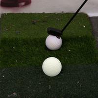 lazer işaretçi piller toptan satış-Golf Atıcı Lazer Pointer Koyarak Eğitim Yardımları Taşınabilir Pil Kumandalı Bekleme Hattı Düzeltici Trainer Uygulama Aksesuarları