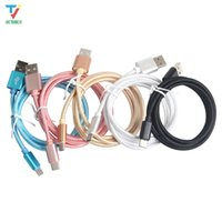 Wholesale blu c online – custom 500pcs Nylon USB Type C Data Sync Charger Cable for ZenPad s Z582KL for BLU Pure XR Vivo XL Vivo Type C USB Charging Cable