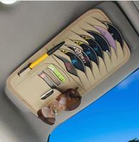 Wholesale visor organizer for car resale online - Car Sun Visor CD Organizer Storage Holder For Clio sport C MAX cmax c max Grand Corsa