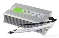 güç 12v ledli modüller toptan satış-15 W 20 W 30 W 60 W Su Geçirmez Açık LED Güç Kaynağı Sürücü 100-240 V AC 12 V 24 V DC Trafo IP67 için LED Modülü ve Şerit