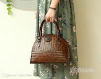 kadın gereçleri toptan satış-Orijinal Çin Japonya Stili İşi Bambu Dokuma Çanta Bayan Çanta Shell Çanta Kadın Günlük Casual Çay Kaplar Çanta