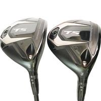 r t s toptan satış-Yeni Golf kulüpleri baştankara tS-2 Fairway Ahşap 3/15 5/19 çatı Golf Ahşap Grafit mil R veya S Golf mili Ücretsiz kargo