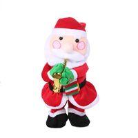 golpe de juguete al por mayor-Nuevo pasatiempo exótico Nuevo Eléctrico Saxofón Papá Noel Muñeco de nieve Árbol Sombrero de navidad Juguete Música Juguete retorcido