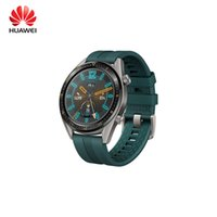 Wholesale huawei watch gt resale online - Original Huawei Watch GT Smart Watch With GPS NFC Heart Rate Monitor ATM Waterproof Wristwatch Sports Tracker Watch For Android iPhone iOS