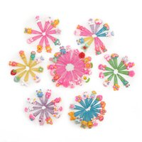 Wholesale plastic hair barrettes for children online - New Cartoon Barrettes Baby BB Clips Cartoon baby Hair Clips Children Barrettes Girls Hairclips hair accessories for girls Hair clips A4488
