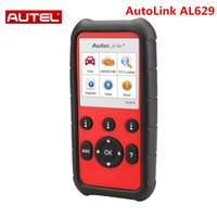 escáner de código srs al por mayor-Autel AutoLink AL629 Code Reader como ML629 para ABS / SRS / Engine / Transmission Better Auto scanner AL619