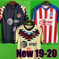 verein neue trikots großhandel-Neu eingetroffen 2019 20 Club America Fußballtrikots 2020 Club de Cuervos Heim Auswärts Dritte Guadalajara Chivas Trikot 19 20 Fußballtrikots