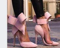 saltos chunky arco venda por atacado-Encontrar semelhante 2019 nova moda de luxo sapatos de salto alto sandálias das mulheres designer de mulheres sandálias de grife sandálias Bow tamanho 35-41