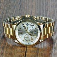relógios de pulso venda por atacado-Michael Alta Qualidade Designer de relógios das Mulheres Relógios Marca MK atacado kor wistwatches reloj à prova d 'água de ouro de quartzo montre mk5605