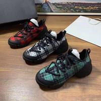 zapatos deportivos mujer flor al por mayor-dr diseñador de zapatos de moda informal de primavera y otoño flores deportivos zapatos de mujer corriendo impresión de la letra Tamaño de la plataforma de lujo Bowling zapato 42