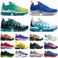 Wholesale spirit lace resale online - 2019 TN Plus Racer Blue University Red Women Mens Running Sports Designer Shoes Spirit Teal Geometric Active Rainbow Men Sneakers Trainer