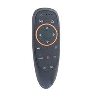 voz de mouse de ar remota venda por atacado-G10 Wireless do giroscópio 2.4G Gxis do rato remoto do ar G10 com aprendizagem de controle remoto do IR da voz