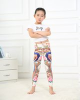 Wholesale dress pant yoga resale online – Children Yoga Pants Trend Dress Running Fitness Sports Trends Dancing Tight Trousers Quick Drying Breathability Shape