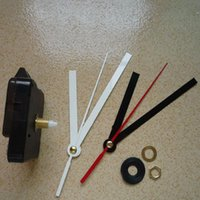 faire des horloges achat en gros de-Noir Horloge Montre Accessoires Décorations Pour La Maison Horloge Murale Noyau Simple Mécanisme À Quartz BRICOLAGE Faire Réparation Remplacer Kit De Pièces