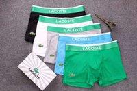 homens crânio cueca venda por atacado-Top new Vogue Homens Cueca Boxers Shorts de Luxo Marque Crânio Projeto Homme Ceinture Sexy Homme Underpant 6 pecs hot