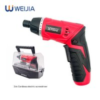 Wholesale recharges battery resale online - 3 v Adjustable Cordless Electric Screwdriver Recharge Power Tools Rechargeable LED Light Lithium Battery Twistable Handle
