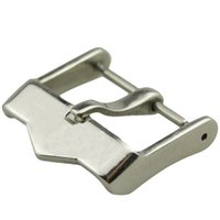Wholesale pin ground for sale - Stainless steel watch buckle watch accessories pin buckle silver polished silver grinding mm FOR TAG