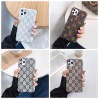 Wholesale iphone back case top online – custom Top Designer For iPhone Pro Max XS XR X Plus Phone Case Back Cover Monogram Branding for Samsung Galaxy S9 S10 note Shell A007