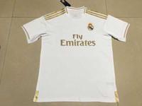 équipement de maison achat en gros de-Camiseta Real madrid home maillots de football MODRIC MARIANO ASENSIO VINICIUS JR maillot de football BALE RAMOS équipement 19 20 ISCO maillot