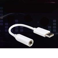 conversor multi cabo venda por atacado-Fone de ouvido fone de ouvido adaptador conversor de cabo para o tipo c luz portátil multi dispositivo de compatibilidade de áudio aux conector 1 85yd ww