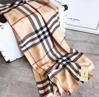 shawl wrap men venda por atacado-Clássico dos homens e das mulheres verificado algodão 180 * 70 cm cachecol xale lenço de multi-cor luxuoso e bonito livre de custos de transporte