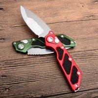 tactical survival knives venda por atacado-Novo Estilo Faca EDC Flipper Sobrevivência Faca Dobrável 9CR18MOV Lâmina Utilitário de Acampamento Ao Ar Livre Caça Ferramenta Facas Táticas P920M Y