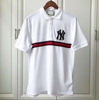 nueva camiseta corta foto al por mayor-2019 Nuevo envío gratis primavera clásico de moda fotos reales de los hombres de alta calidad de manga corta camisa de golf polo casual