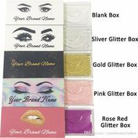 diseños de pegatinas al por mayor-Lash Box with Private Sticker Logo Mink Lashes Etiqueta y diseño personalizados (utilizados para Mink Lashes Natural 3D Mink Eyelash Falts Lashes)