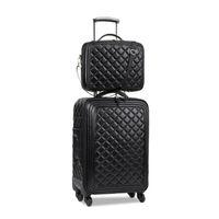 24 pulgadas de equipaje al por mayor-juegos de equipaje, 16/20/24 pulgadas Señora equipaje de mano, maleta de cuero de alta calidad, la maleta retro, Pieza de alta calidad, maleta