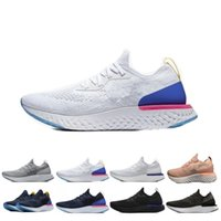 Wholesale comfortable shoes for hot summers resale online - Hot Sale Epic React Running Shoes For Women Men Instant Go Fly Breath Comfortable Sports Mens Womens Athletic Sneakers Size