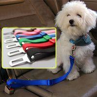 ingrosso imbracatura di cintura di sicurezza per i cani-Nuovo cane regolabile Utility Pet Car Safety Seat Cintura Harness Restraint Lead Leash