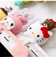 Wholesale melody case for sale – best 3D Cute phone Case Cover for iphone X XR XS Max plus S Plus Super Cute Cartoon Hello Kitty My Melody bear Soft case cover