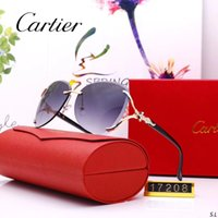 Wholesale glasses frames stylish for women resale online - 2019 New Sunglasses Luxury Sunglasses Stylish Fashion Designer Sunglasses for Mens Womens Glass UV400 Style with Litttle Bees With BOX