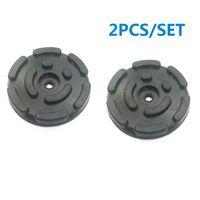 Wholesale car lifting resale online - 2PCS Post Lifting Rubber Pads Round Shape Auto Car Lift Accessories Arm Pads Kit Universal Black Thick Pads