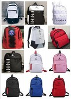 nylon-rucksack groihandel-neue air2019 / 20 AJ Jordan Tornister bagssoccer AJ PSG PARIS Marke Taschen für Mann Frauen Mädchen und Mode-Freizeit-Sport-Umhängetasche