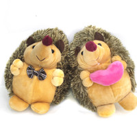 Wholesale hedgehog toys stuffed animals for sale - Group buy Soft Toys Kawaii Stuffed Animal cm pair Hedgehog Plush Toys Dolls Mini Plush Toys Dolls for Kids Birthday gift SH190913