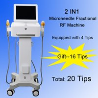 Wholesale anti aging beauty machine resale online - 2 in fractional RF skin rejuveantion radio frequency wrinkle removal Microneedle RF face lift anti aging beauty salon machine