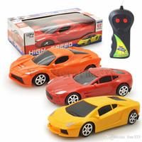 coches rc al por mayor-Coches de lujo RC SportsCar Cars M-Racer Control remoto Coque Mini RC Radio Control remoto Micro Racing 1:24 2 canales Car Toy C15139