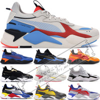 Wholesale bowl toy for sale - Group buy RS X Toys Reinvention Men Women Running System White Black Blue Red Transformers Bumblebee Dad Shoes Athletic Fashion Sneakers Sports Shoes
