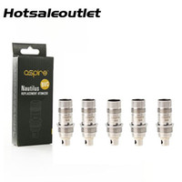 Wholesale vertical coil clearomizer resale online - Authentic Aspire Nautilus BVC Coil for Aspire Nautilus Mini Clearomizer Replacement Bottom Vertical BVC Coil ohm ohm DHL Free