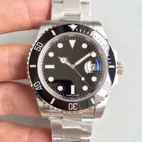 montres mécaniques achat en gros de-montres de luxe mens montres de designer vert visage en acier inoxydable automatique mouvement montres-bracelets orologio di lusso