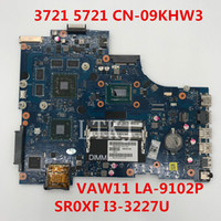 Wholesale intel hm77 motherboard for sale - High quality For Inspiron Laptop Motherboard CN KHW3 KHW3 KHW3 VAW11 LA P With SR0XF I3 U HM77 full Tested