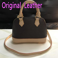 Wholesale small hasp lock online - High quality Women Shell bag Classic Women Handbags Totes Bag