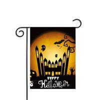 Wholesale pumpkin banner for sale - Group buy Halloween Flags Pumpkin Party Home Garden Supplies Bat Decor Polyester Banner Decorative Decoration Indoor Accessory Ornament Bar Flag
