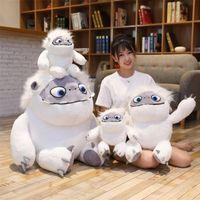 juguetes de peluche anime comics al por mayor-35cm 55cm 90cm de nieve abominable monstruo de felpa 2019 nueva película de juguetes de la muñeca linda del animado para niños gif B