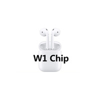 Wholesale battery bluetooth for iphone resale online - Animation Showing Supercopied W1 H1 Chip Bluetooth Double Earphone For Air Headset Touch Voice Control Top Sound Quality High Level Battery